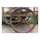Bici Notecard-Vieja Tarjeta Pequeña