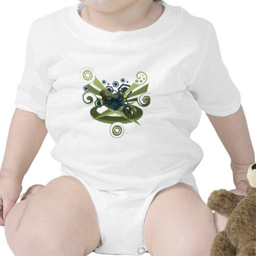 bici-nuez trajes de bebé