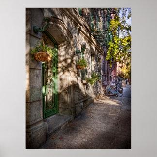 Bici - NY - Greenwich Village - el distrito verde Impresiones