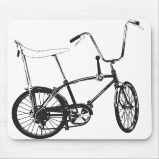 Bici original de la escuela vieja mouse pads