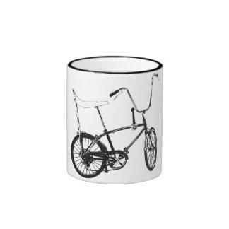 Bici original de la escuela vieja taza de dos colores