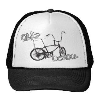 Bici original y pintada de la escuela vieja gorras