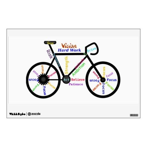 Bici, palabras de motivación del ciclo para el fan