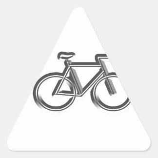 Bici Pegatina Triangular