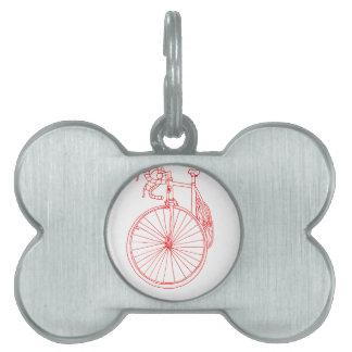 Bici Placa De Mascota