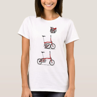 Bici plegable playera