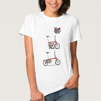 Bici plegable remera