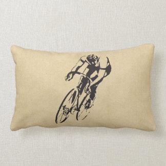 Bici que compite con el velódromo almohada