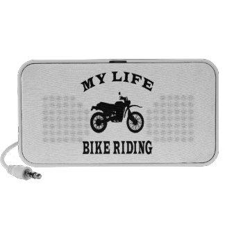 Bici que monta mi vida mini altavoces