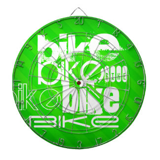 Bici; Rayas verdes de neón