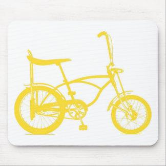 Bici retra de Seat del plátano Tapete De Ratones