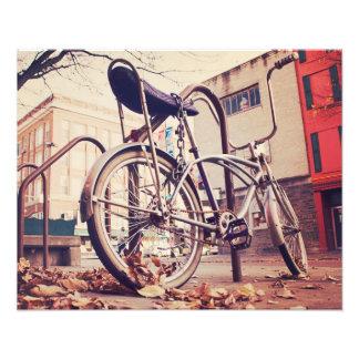 Bici retra impresiones fotograficas