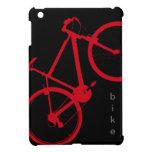 bici roja, completando un ciclo iPad mini carcasa