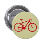 bici roja, completando un ciclo pin