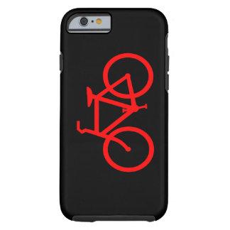 Bici roja funda de iPhone 6 tough