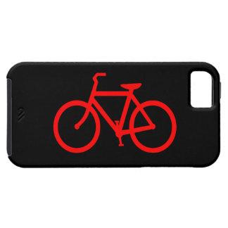 Bici roja funda para iPhone SE/5/5s