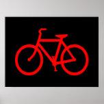Bici roja impresiones