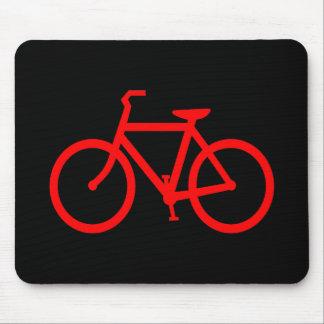 Bici roja mouse pads