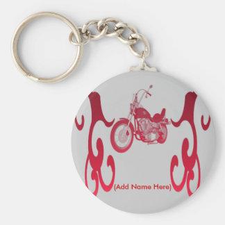 Bici roja personalizada - llavero