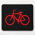 Bici roja tapetes de ratones
