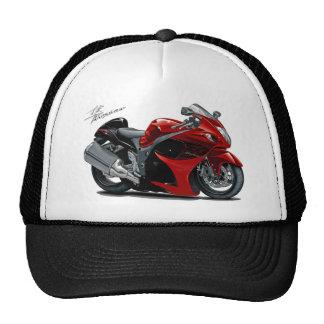 Bici Rojo-Negra de Hayabusa Gorro