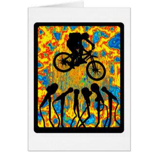 Bici Sonic estupendo Tarjeta De Felicitación