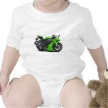 Bici verde de Ninja Trajes De Bebé