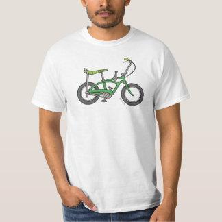 Bici verde del músculo playera