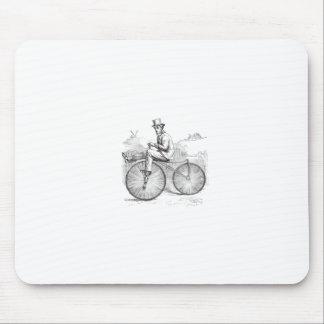 Bici vieja retra con clase tapete de raton