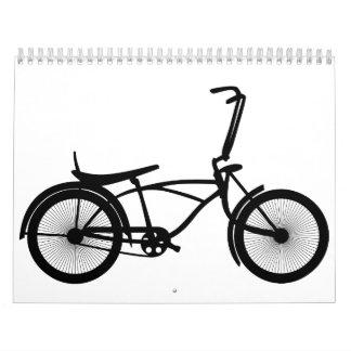 bici calendarios de pared