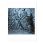 Bicicleta 1915 del vintage - usted hará todo a la  postales