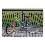 Bicicleta 5x7 tarjetón