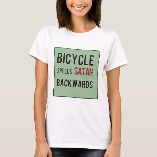 Bicicleta al revés playera