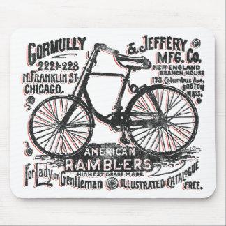 Bicicleta americana del Rambler Tapete De Raton