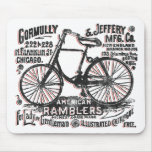 Bicicleta americana del Rambler Tapetes De Ratón