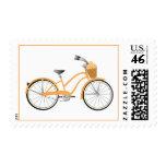 Bicicleta anaranjada