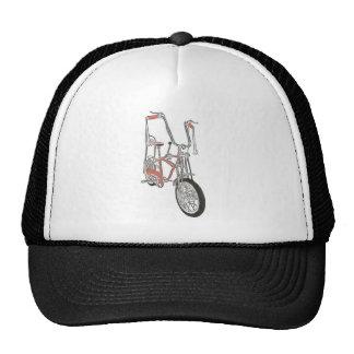 Bicicleta anaranjada clásica de la bici de los año gorras