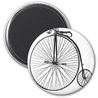 Bicicleta antigua del comino del penique iman de nevera