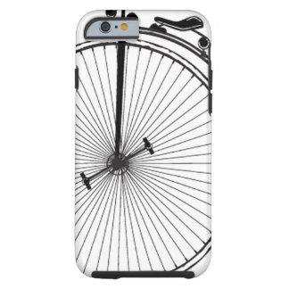 Bicicleta antigua funda para iPhone 6 tough