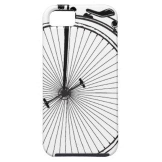 Bicicleta antigua funda para iPhone 5 tough