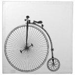Bicicleta antigua servilleta de papel