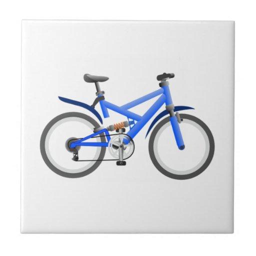 Bicicleta Azulejo Cuadrado Pequeño