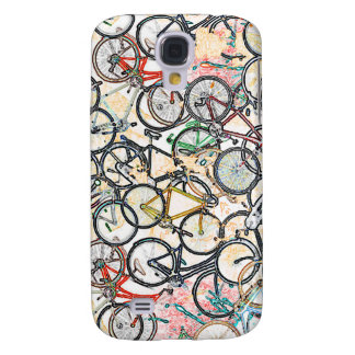 bicicleta = bici = biking. agradable funda para galaxy s4