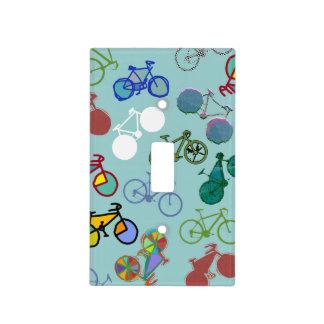 bicicleta - biking + bici placas para interruptor