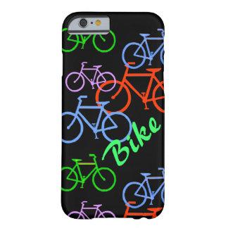 Bicicleta brillante funda de iPhone 6 barely there