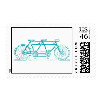 Bicicleta construida para el franqueo dos