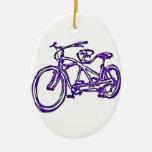 Bicicleta construida para la bici 2 (del tándem an adorno para reyes