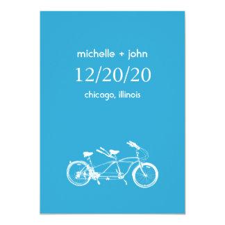 """Bicicleta construida para la reserva dos la fecha invitación 5"""" x 7"""""""