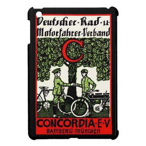 Bicicleta de 1925 alemanes y club de la motociclet iPad mini cárcasa