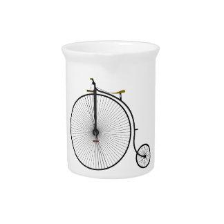 Bicicleta de antaño del comino del penique jarron